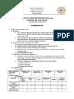 Assessment Handouts