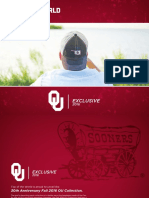 Top of the World Caps Oklahoma Sooners 2016