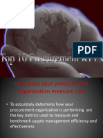 Best 10 Procurement Kp i