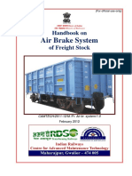 Handbook on Air Brake System for Freight Stock