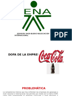 Matriz Dofa Cocacola Isaza