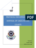 Civil Court Protocol