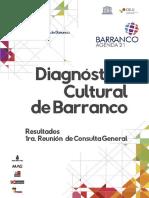 Diagnostico Cultural de Barranco
