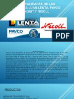 Generalidades de Las Empresas Juan Lenta, Pavco