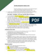 Engineering Management Summary Notes 2