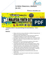1 Malaysia Youth City Camp Perak 2015