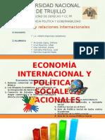 Economía Internacional y Políticas Sociales