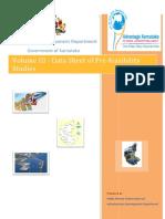 Volume III Data Sheet Pre-feasibility