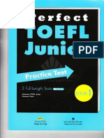 Perfect TOEFL Junior Practice Test 1
