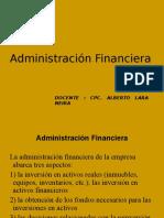 Power Point de Administración Financiera