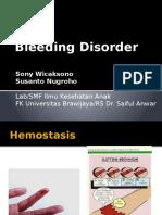 Kuliah Blok Bleeding Disorders