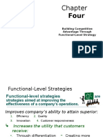 Functional Level Strategy Hill and Jones