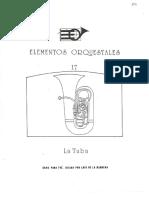 Elementos orquestales.La tuba