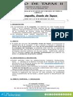 Bases Concurso Duelo de Tapas en El Campello 2016