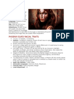 Phoenix Elves (3.5 Race)