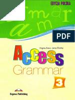 Access 3 - Grammar