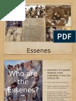 Essenes Report