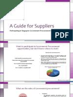Supplier Guide Summarised