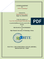 DTSI techonology seminar report for rite college