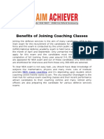 Benefits of Joining Coaching Classes