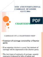 4. Charterparty