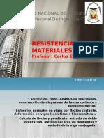 Resistencia de Materiales Clase 09 Flexión
