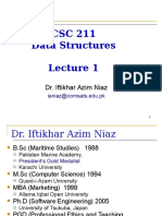 CSC211 Lecture 01