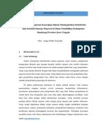 Analisis Manajemen Kearsipan Dalam Meningkatkan Efektivitas Dan Efisiensi Kinerja Pegawai Di Dinas Pendidikan Kabupaten Rembang Provinsi Jawa Tengah.