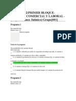 Quiz - Derecho Comercial