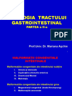 Patologia Tr. GI Partea II