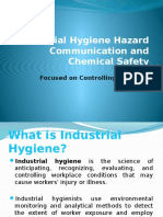 Industrial Hygiene Hazard Communication and Chemical Safety