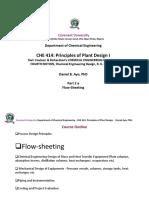CHE 414 Principles of Plant Design I Part 2