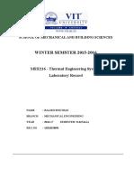 Thermal Lab Manual Vit
