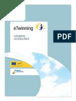 Etwinning General Guidelines 2010 En