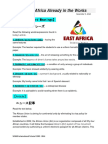 borderless africa already in the works
