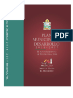 plan municipal de desarrollo Tecolutla veracruz