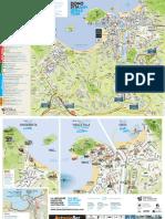 San Sebastian Tourist Map