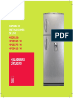 Patrick Heladera Con Freezer Manual 170216