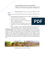 3.Wilt Management Advisory in pomegranate