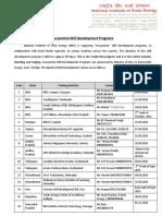 Suyamitra Skill Development Program NISE