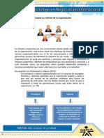 Principios y Valores de La Organizacion