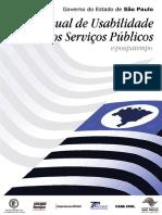 Manual Da Usabilidade Para Serviços Publicos