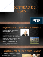 La Identidad de Jesús
