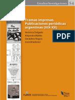 Publicaciones periódicas argentinas XIX-XX