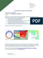 2 Natural Ventilation Thermal Comfort Modeling