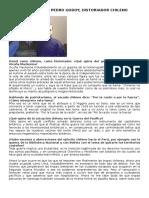 Entrevista a Pedro Godoy Historiador Chileno