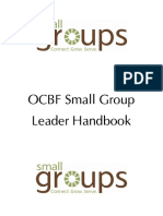 Small Group Facilitator Handbook Rev111314