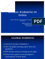 Global Warming in India