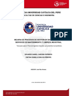 Cancino Eduardo Ruelas Cinthya Mejora Procesos Empresa Servicios