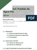 Aula 2 - Instalacoes Prediais de Agua Fria - 2016
